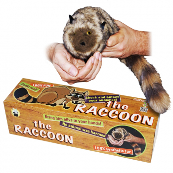 The Raccoon - 100% Synthetic Fur