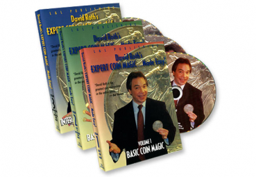David Roth Expert Coin Magic Made Easy (3 Vol. set)