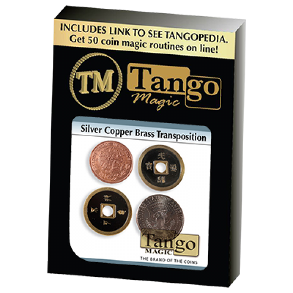 Silver Copper Brass Transposition - Tango