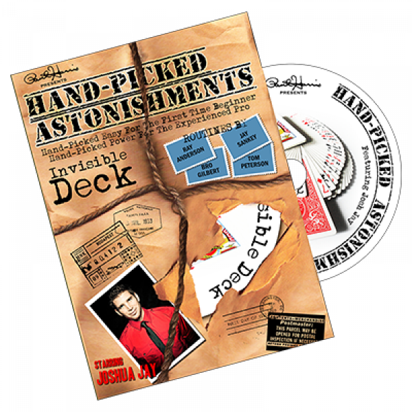 Hand-picked Astonishments - Invisible Deck - by Paul Harris and Joshua Jay