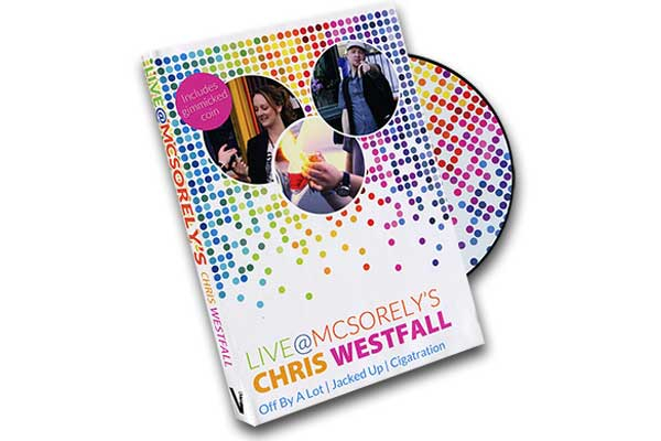 Live at McSorely's Euro version (DVD and Gimmick) by Chris Westfall and Vanishing Inc.