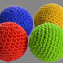 "Crochet 5 Ball combo Set (1"") by Mr. Magic"